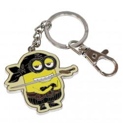 Porte-clés -  Minions : Eye Matie 4 cm