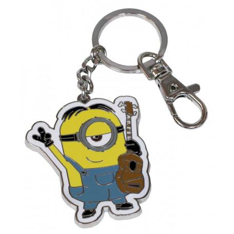 Porte-clés -  Minions : Stuart 4 cm