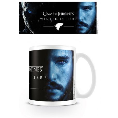 Mug Winter Is Here Jon Snow Knight King