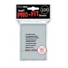 Protèges cartes  X100 - Pro-Fit Transparent - Samll Size