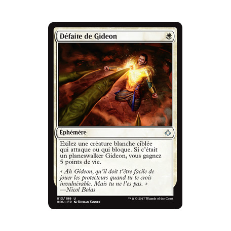 Défaite de Gideon / Gideon's Defeat