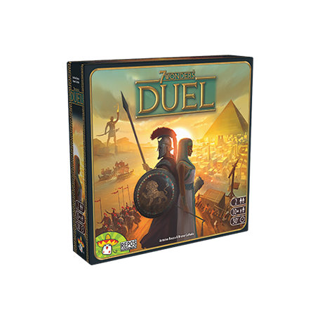 7 Wonders Duel - Asmodée - Repos Production