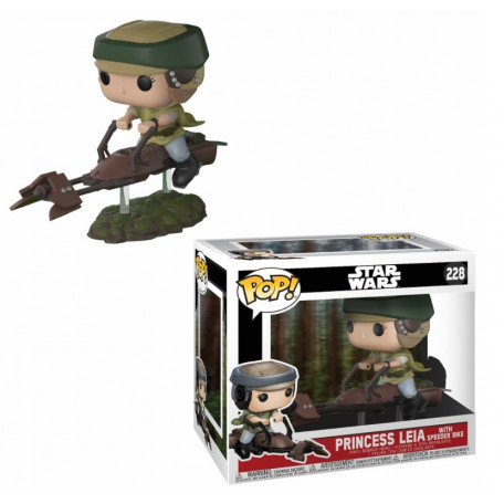 228 Princess Leia & Speeder Bike