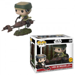 229 Luke Skywalker & Speeder Bike - Chase * Limited Edition