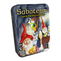 Saboteur - Boite métal