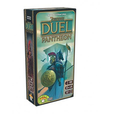 7 Wonders Duel Pantheon - Asmodée - Repos Production
