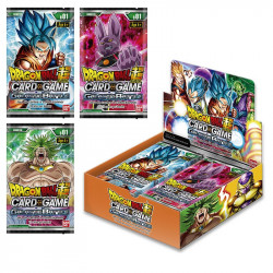 Dragon Ball Super Card Game  : Boîte 24 boosters  Galactic Battle