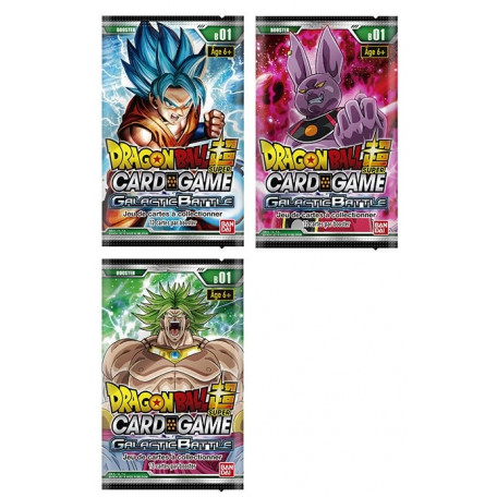Dragon Ball Super Card Game : booster Galactic Battle