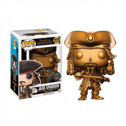 273 Jack Sparrow Gold  Limited Edition