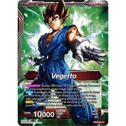 BT2-001Vegetto // Vegetto Super Saiyan, guerrier fusionné