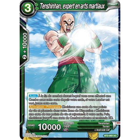 BT2-083 Tenshinhan, expert en arts martiaux