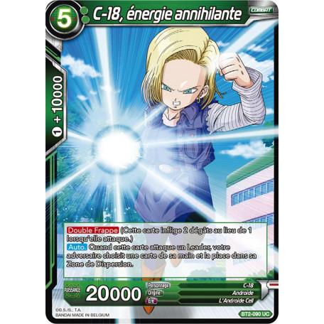 BT2-090 C-18, énergie annihilante