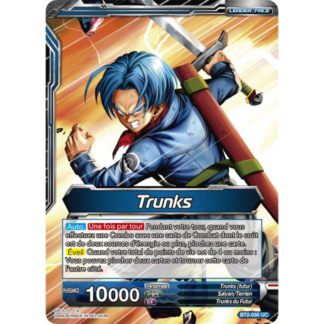 BT2-035 Trunks // Trunks, Espoir du futur