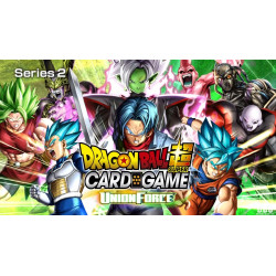 Dragon Ball Super Card Game : Set Unco / Peu communes Union Force - série 2