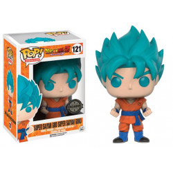 121 Super Son Goku God Blue - Exclusive