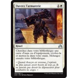 Ouvrez l'armurerie / Open the Armory