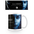 Mug Winter Is Here Daenerys Knight King