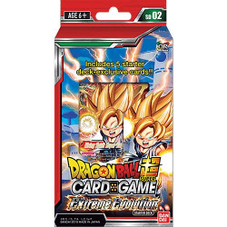 Deck de Démarrage Dragon Ball Super Card Game SD02 Extreme Evolution