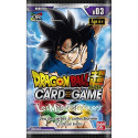 Dragon Ball Super Card Game  : Booster  Les Mondes Croisés - série 3
