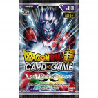 Dragon Ball Super Card Game  : Booster  Cross Worlds - série 3