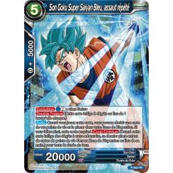 P-022 Son Goku Super Sayan Bleu, assaut répété