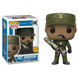 08 Sgt. Johnson - Chase * Limited Edition