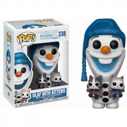 338 Olaf avec Chatons (Joyeuses Fêtes avec Olaf)