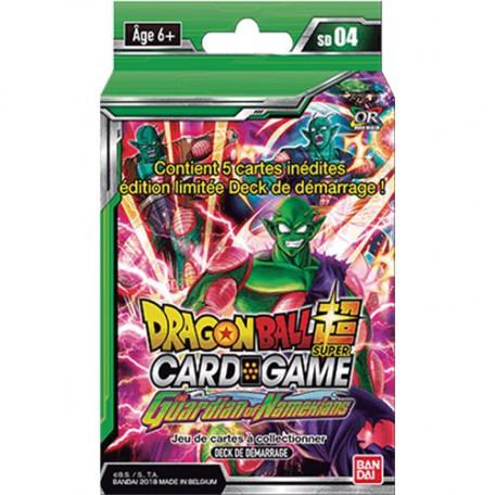 Deck de Démarrage Dragon Ball Super Card Game SD04 The Guardian of Namekians