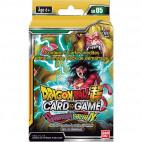 Deck de Démarrage Dragon Ball Super Card Game SD05 The Crimson Saiyan