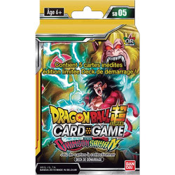 Deck de Démarrage Dragon Ball Super Card Game SD05 The Crimson Saiyan
