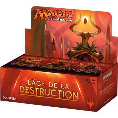 Boîte 36 boosters Âge de la destruction