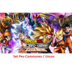 Dragon Ball Super Card Game  : Set Unco / Peu communes Colossal Warfare - série 4