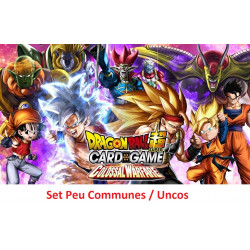Dragon Ball Super Card Game  : Set Unco / Peu communes Colossal Warfare - série 4
