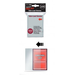 Protèges cartes  X100 - Pro-Fit Transparent - Standard Size - Side-Load