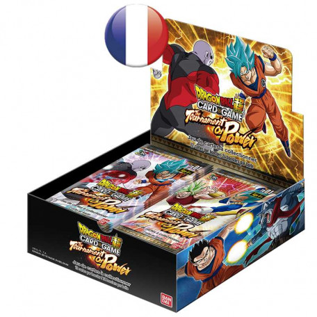Dragon Ball Super Card Game  : Boîte 24 boosters Theme Boosters