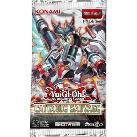 Yu-Gi-Oh! - Booster L'Attaque Sauvage