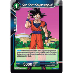 BT1-033 Son Goku Saiyan enjoué