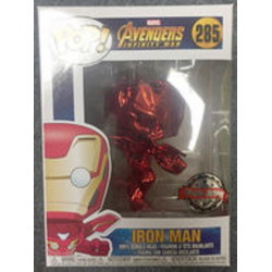 285 Infinity War Red Chrome Iron Man - Exclusive