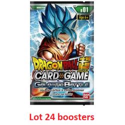 Dragon Ball Super Card Game  :  booster  Galactic Battle