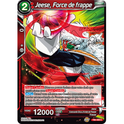 TB3-009 Jeese, Force de frappe