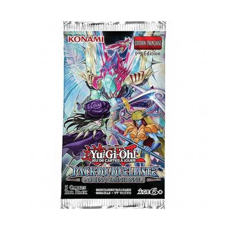 Yu-Gi-Oh! - Booster Pack du Duelliste : Gardiens Dimensionnels