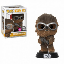 239 Chewbacca Flocked - Exclusive