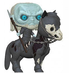 60 White Walker On Horse