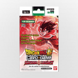 Deck de Démarrage Dragon Ball Super Card Game SD09 The Saiyan Legacy