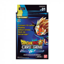 Dragon Ball Super Card Game :  Expert Deck 1 Universe6 Assailants