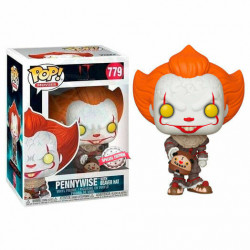 479 Pennywise / Gripsou with Balloon With Beaver Hat - Exclusive