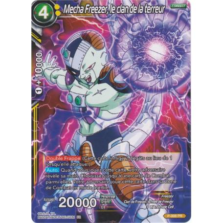 Dragon Ball Super Card Game Mecha Freezer le Clan de la Terreur P-008 PR FOIL