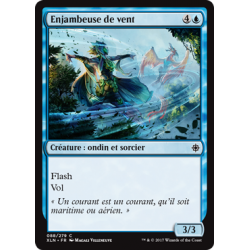 Enjambeuse de vent / Wind Strider