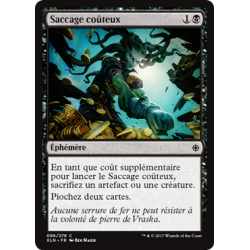Saccage coûteux / Costly Plunder