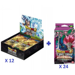 12 X Boîtes 24 boosters B09 : Universal Onslaught + Offre précommande : 24 Packs SP04 offerts